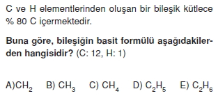 Kimyasalyasalarhesaplamalarkonutesti2002