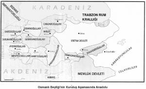 Osmanlinin kurulusunda Anadolu