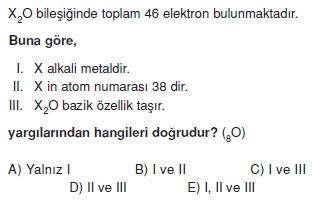 Periyodikcetvelveözelliklericözümlütest2003