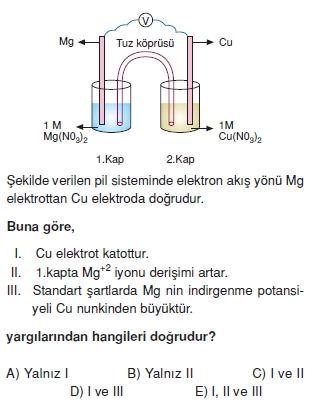 Redoksveelektrolizcözümlütest2004