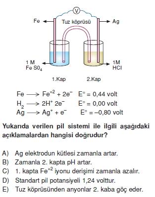 Redoksveelektrolizcözümlütest2005