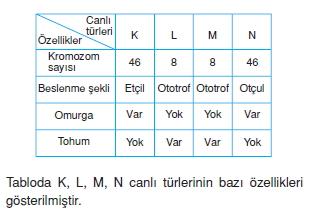 canlilarinsiniflandirilmasicözümlütest2004
