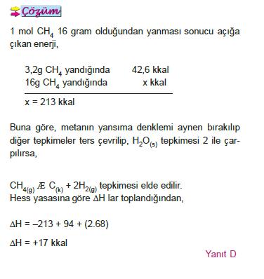 cozum_kimyasal_tepkimeler