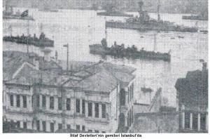 itilaf devletlerinin gemileri istanbulda