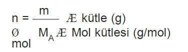 mol_kutlesi