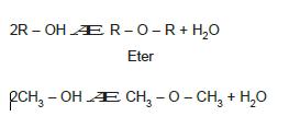 2_mol_alkolden_1_mol_H2O_cekilmesi