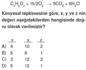 Maddeveözelliklericözümlütest1010