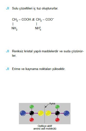 aminoasit_ozellikleri