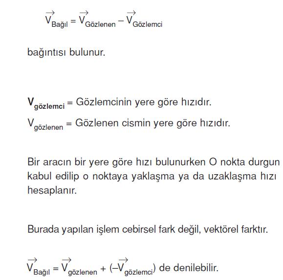 bagil_hiz_denklemi