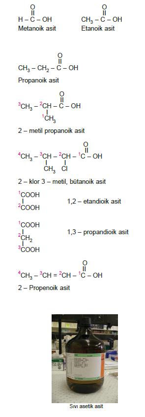 karboksilli_asitlerin_Sistematik_Adlandirilmasi