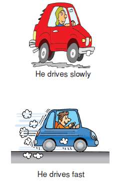 He_drives_slowly
