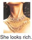 She_looks_rich