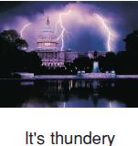 thundery