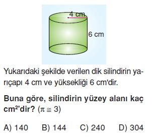 7sinifGeometrikCisimlerinYuzeyAlanikonutesti2_006