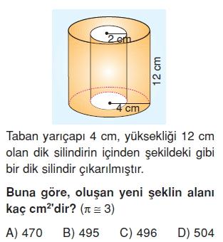 7sinifGeometrikCisimlerinYuzeyAlanikonutesti4_009