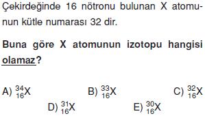 Atom-periyodik-sistem-konu-testi-2