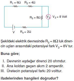 elektrik-ve-manyetizma-konu-testi-1